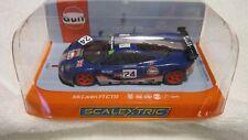 SCALEXTRIC GULF McLAREN F1 GTR 1/32 SCALE SLOT CAR