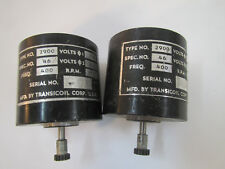 LOT 2 Transicoil Electric Motors, Type No 2900, 115VAC, 5500 RPM  Gear Motor