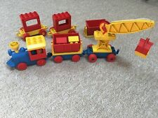 vintage duplo train with additional carriages