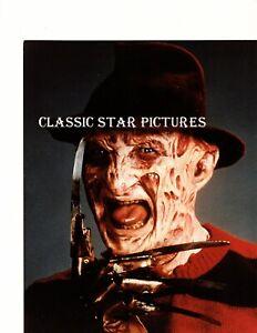 T175 Robert Englund Fred Krueger A Nightmare on Elm Street 1984 glossy photo
