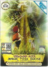 DVD Magic Tree House The Animated Movie *ENGLISH SUBTITLE*  + Free Gift