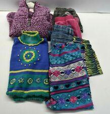 Wholesale Bulk Girl's 6-6X Sweater, Jeans, T-Shirt, Pajamas, Shorts Lot of 6