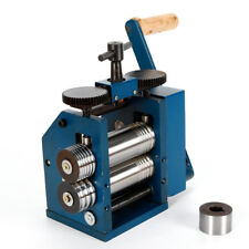 Manual Combination Rolling Mill Machine Jewelry Press Tool Equipment Free Ship