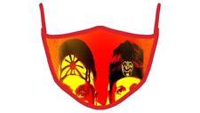 Cobra Kai Face Mask Strike First Strike Hard No Mercy karate Martial Art Mask .