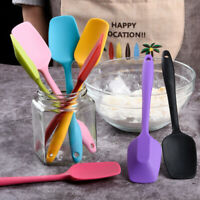 Heat Resistant Non-stick Silicone Spatula Spoon Cooking Kitchen Placement Gadget