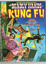 DEADLY HANDS OF KUNG FU #8 MARVEL 1974 NM- SHANG-CHI SONS OF THE TIGER SAMURAI