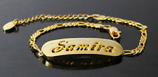 SAMIRA - Bracelet With Name - 18ct Yellow Gold Plated - Gifts For Her - Fashion