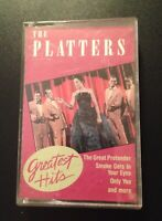 The Platters Greatest Hits Cassette Tape