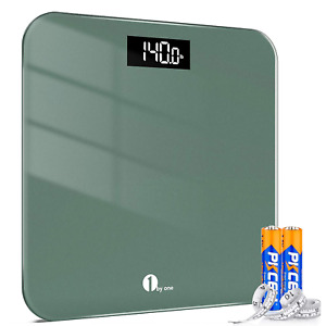 Body Weight Scale Digital Bathroom Highly Accurate LED Display 400 Lbs Capacity
