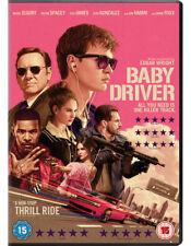 Baby Driver DVD 2017 Action Crime Thriller Jamie Foxx Kevin Spacey R15
