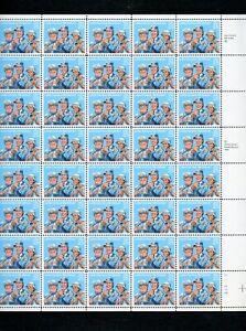 US SCOTT 2420 Letter Carriers  Full Mint NH Sheet 40