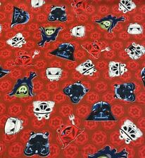 100% Cotton Fabric Camelot Fabrics Angry Birds Star Wars Darth Vader