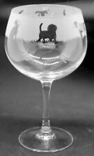 More details for beagle frieze boxed 70cl glass gin balloon