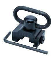 New Quick Release Detach QD Sling Swivel Attachment - 20mm Picatinny Rail Mount