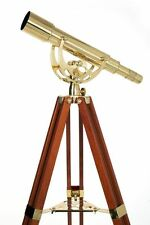 Celestron Ambassador Deluxe Executive Brass 50mm Telescope 15-45x Mag