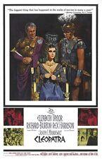 Cleopatra movie poster - Elizabeth Taylor, Richard Burton - 11 x 17 inches