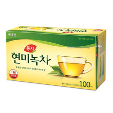 Korean DONGSUH Brown Rice Green Tea 1.5g X 100 Tea Bags