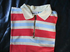 Marco Polo Hemd Shirt Orange Blau Gelb Baumwolle 128 140 schöne Farben Jungen