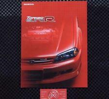 Honda Torneo Euro-R CL1 JDM Brochure Catalog 1998-2002 99 00 01 Rare Accord H22a
