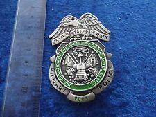 A33-11 Military Police Shield Badge Original MP US Army PRESIDENT USA RARE!