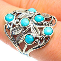 Tibetan Turquoise 925 Sterling Silver Ring Size 9 Ana Co Jewelry R52338F