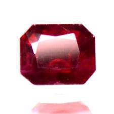 1.02 Ctw Dazzling Pigeon Blood Red Rare Burma Origin Natural Ruby