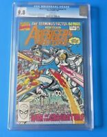 WEST COAST AVENGERS ANNUAL #5 ~ CGC 9.8 ~ MARVEL COMIC BOOK 1990 ~ WHITE PAGES