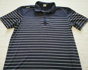 Ping Golf Polo Shirt Short Sleeve Sensorcool Men's Size XL Blue Stripe