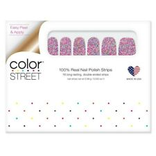 Color Street - Party In The Usa - 100% Nail Polish Strips