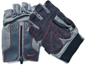 Nike Men's DRI-FIT Multi-purpose STRENGTH FITNESS TRAINING GYM GLOVES -Flexi fit