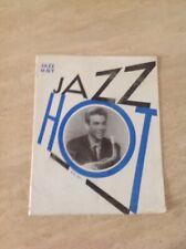 Jazz Hot N°24 Revue Du Hot Jazz Club De France Juin Juillet 1948 Couv Hubert Fol