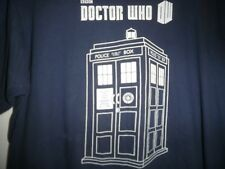 Dr. Who Police Call Box T-Shirt Size Medium BBC Graphic Tee Doctor Who M