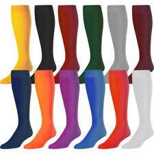 Twin City Performance Nylon Solid Color Tube Socks Adult and Youth Sizes TCK New
