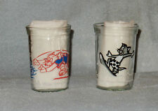2 Welch's Tom Cat & Jerry Mouse Glasses