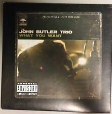JOHN BUTLER TRIO – What You Want EP (advance cardboard sleeve promo)