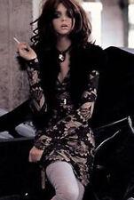 ANIYE BY LIU JO ABITO VESTITO DONNA L FIORI Women Wool KNIT DRESS KLEID ROBE '70