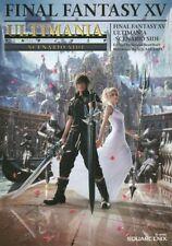 Final Fantasy XV Ultimania Scenario SIDE Official Game Guide Book Free Shipping
