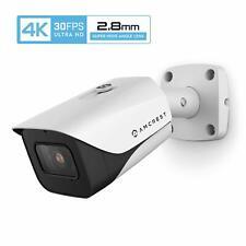 Amcrest 4K 8Mp Poe Ip Security Camera Video Surveillance System 111° Angle 2.8Mm