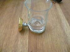JADO ORIENTAL Glashalter CHROM-GOLD Ausstellungsstück