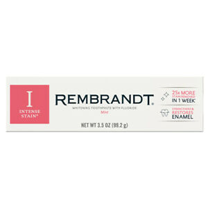REMBRANDT Intense Stain Toothpaste 99.2 g 3.5 OZ New Improved Whitening