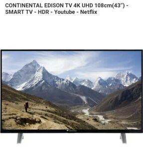 TV 4K HDR 109 CM