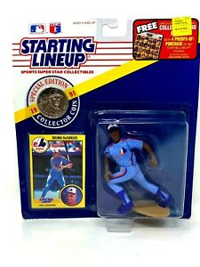 Starting Lineup, 1991 Delino DeShields Expos with Collector's Coin (Sealed)