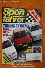 Sportfahrer 1/85 Fiat Ritmo + Spider Audi Coupe
