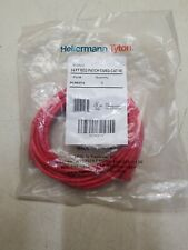 Hellermann Tyton PCRED14 Category 5e patch cord, Red