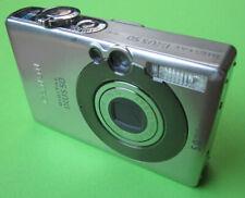 Canon IXUS 50 + accesorios paquete + tarjeta SD - 512mb funda 2. batería #27