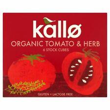 Kallo Organic Tomate & Herb 6 Stock Cubes - 66 g