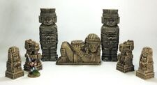 GHOST ARCHIPELAGO (suited) - 'TOTEMS, IDOL & STATUE PACK' - PRE PAINTED TERRAIN