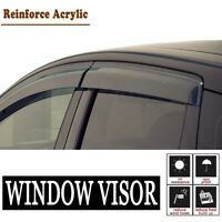 4PCS For 01-2004 Chevrolet S10 Crew Cab Vent Shade Window Visors Weather Shields