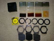 Cokin 6 Adapter Rings, 4 Filters, Holders, Case, Filter kit