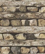 Vliestapete Holz / Tapete Rasch 931808 Holzoptik Natur / EUR 2,81/qm